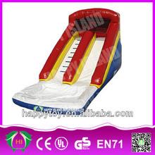 HI CE custom fire truck inflatable water slide,amusement park slide for sale