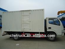 Dongfeng 4x2 van caminhão venda, 3.5 toneladas mini van de carga de caminhões