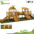 Pré-escolar de madeira ao ar livre das crianças equipamentos de playground