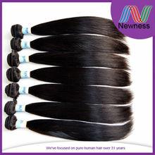Newness 7a grade 100% unprocessed brazilian best hair king