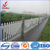 high quality surface treatment powder coated aluminum fence prices