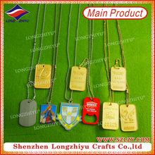 Custom dog tag wholesale name brand tags