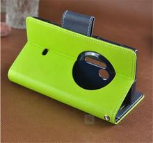 mobile phone leather display case for nokia lumia 520/620