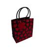 pvc handle printed luxury paper shopping bag