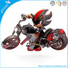 Zooyoo pvc original removable shadow motorcycle movie wall decals boys room decoration
