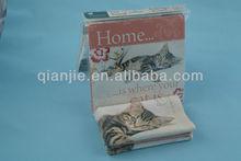 Kitchen cloths and kitchen tea towels wholesale/ microfiber printing cat tea towel/tea towel