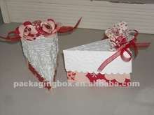 2014 Hot Selling Handmade Paper Chocolate Boxes