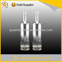 White spirit mineral spirits glass bottle