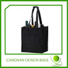 Stable promotional nonwoven 6 wine bottles bag