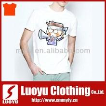 New fashion custom screen print t shirts custom