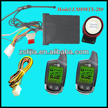 CE/FCC two way motorcycle/motorbike alarm from BERET NTO