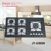 Glass top cast iron grate gas stove with high pressure with safety device for optional JY-G5009