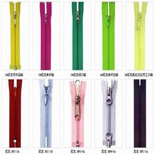 High quanlity bag big Plastic zipper colorful nylon zipper invisible waterproof bag zipper for garment