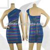 new fashion Bandage dress wrap dress designs sexy girls' dress H107