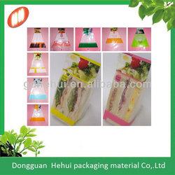 plastic sandwich bag with different color
