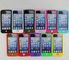 High Quality Silicone Gel Cell Phone Case for iPhone 4S 5S Waterproof Mobile Phone Back Protective Case Custom Logo