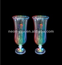 16oz Rock LED Flashing Hurricane Glass for Party