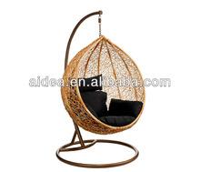 Indoor furniture+ outdoor furniture +rattan hanging swing chair