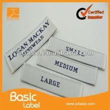 custom cheap elegant clothing labels