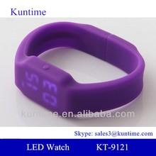 friendly silicone 16gb usb watch, thin strap