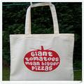 Nuevos productos 2014 lavable y reutilizable 100% natural modificado para requisitos particulares estampado de hechos a mano de algodón venta al por mayor de flores bolsas de mano bolsas