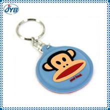keychain soft toys rubber monkey keychain