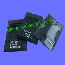 custom printed plastic bag matte finish/matte finish plastic bag