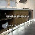 Hpl, fenólicos muebles de cocina contemporánea