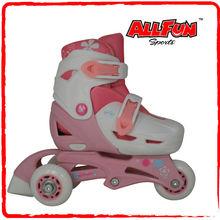 Inline skate girls adjustable size for quad skates