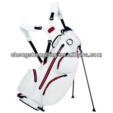 New design fashion Nylon golf stand bag light