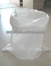 pp plain white bag /transparent pp woven bag 25KG/50KG