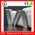 De dos conjuntos hebilla de cinturón/en forma de v de color plata cinturón de hebilla de/hebilla de cinturón fabricante( hh- hebilla- 201)