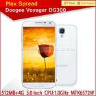 Original Doogee DG300 mtk6572 dual core cell phones 5.0inch IPS screen alibaba express