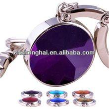 metal diamond bag hanger keychain/ foldable bag hanger/Diamond Bag Hanger