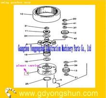2413J376 FOR SK485-8 kobelco swing gear box diff spider