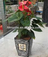flowers aritificial clay soil pellets