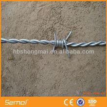 High Tensile Galvanized Barbed Wire Reverse Twist (manufacturer)
