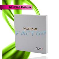 7 inch tablet pc front camera HDMI 3D Game ALLFine Fine7 Genius Quad core tablet pc