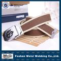 2014 new fashion canvas belts wholesale kids for men