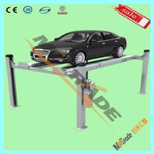 Stereoscopic four post car parking equipment