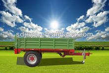European style 2t single axle farm truck trailer, 2014 hot sale model
