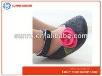 sunny wool felt shoes