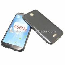 Matte Pudding Soft Gel Case TPU Cover for lenovo A860E