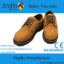 Best-selling yellow safety shoe nubuck leather safety shoes active safety shoes