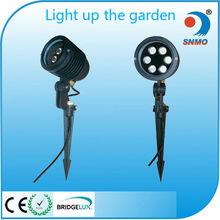 3w 6w 9w 12w ce rohs high lumen aluminum lawn and garden lighting