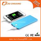 best selling 8000mAh portable power bank for handphone