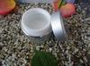Golden/Sliver color aluminum cream jar with scrwew cap