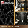 Newstar polished black and gold marble portoro marble