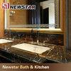Prefab black portoro marble bathroom countertops