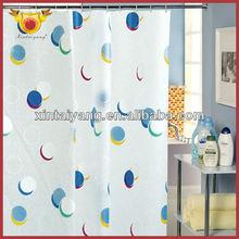 Ball Design Bath PVC Small Door Window Curtains